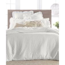 Lucky Brand Textured Woven Cotton 3-Pc. Duvet Set (Natural, Full/Queen)