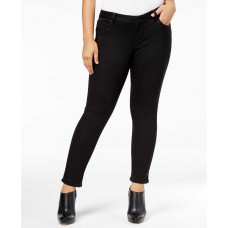 Lucky Brand Trendy Plus Size Ginger Skinny Jeans (Black, 14W)