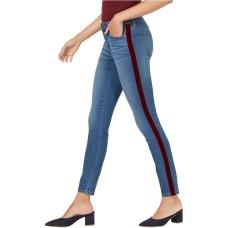 Maison Jules Womens Side Stripe Skinny Fit Jeans (6/28)