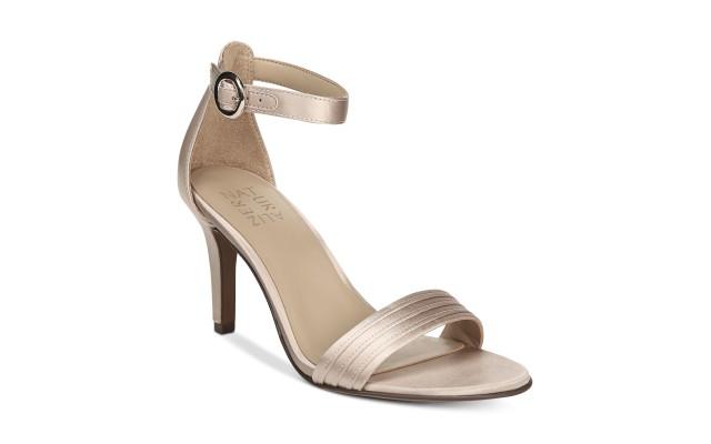 Naturalizer Women's Kinsley 2 Medium/Wide Dress Sandals, Pink, 9 M