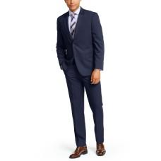 Nautica Men's Solid Color Modern-Fit Suits