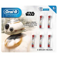 Oral-B Kids Disney's Frozen 2 or Star Wars Replacement ToothBrush Heads, 5-Count, Star Wars