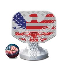 Poolmaster 16″ Aluminum Hoop Poolside Basketball Game