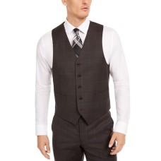 Ralph Lauren Men's Window Vest, Brown, Small