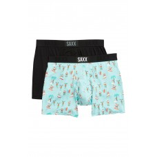 SAXX Vibe 2-Pack Performance Boxer Briefs (Assorted, S)