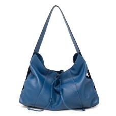 T Tahari Liza Leather Hobo Handbag, Teal