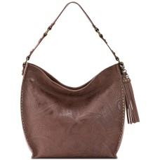 The Sak Silverlake Leather Hobo Handbag, Brown