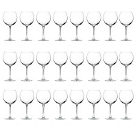 The Season Essentials Classic Stemmed Red Wine Glass Set, Set of 24