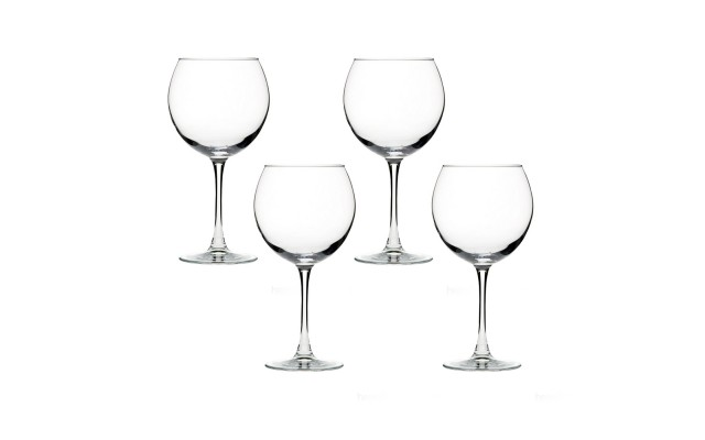 Classic Stemmed Red Wine Glass Set, Set of 4