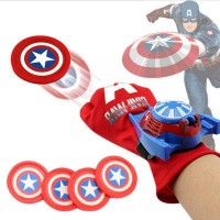 the Season Toys Kids Superhero Magic Gloves with Wrist Ejection Launcher, Mr. America