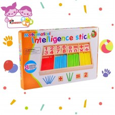 The Season Toys Math Is a Game Cognitive Developmental Toy for Math Area of Montessori Education – Counting and Color Differentiation Game for Pre-KKindergarten ToddlersKids