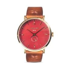 Throne Men's Fathom 1.0 Red Dial Watch, 40mm