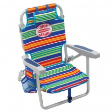 Tommy Bahama Kids Backpack Beach Chair Lounge 5 Position Portable Foldable