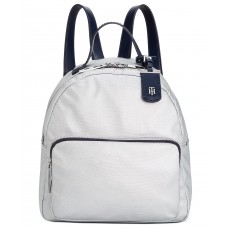 Tommy Hilfiger Julia Metallic Backpack, Grey