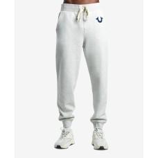 True Religion Men's Classic Logo Jogger Sweatpant (Beige, M)