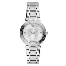 Versace Daphnis Mother-of-Pearl Dial Stainless Steel Quartz Ladies Watch VE1601018