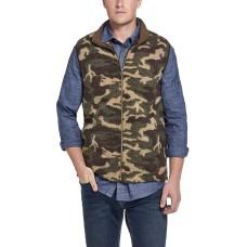 Weatherproof Vintage Men's Camo Vest (Green, L)