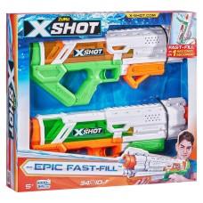 Zuru Water Gun Toy for Kids 2 for 1 Epic Water Blaster (2 Pack)