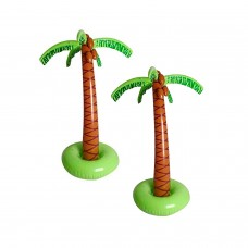 5.5 ft/66″ Large Inflatable Palm Tree for Poolside DecorDecoration for TropicalHawaiian and Aloha Themed Birthday and Poolside PartiesLuau Pool Side Party Decorations