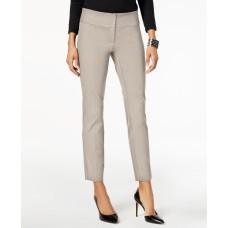 Alfani Womens Slim Straight Leg Dress Pants (Beige, 12)