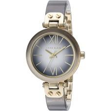 Anne Klein Women's AK/2212GYGB Grey Ombre Resin Bangle Watch