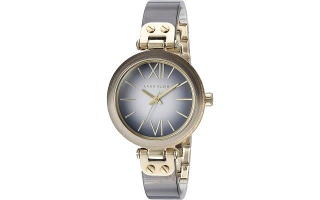 Women's AK/2212GYGB Grey Ombre Resin Bangle Watch