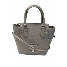 Guess Doreen Satchel Crossbody Purse Handbag Taupe