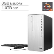 HP Pavilion Desktop - AMD Ryzen 5 5600G 8 GB 1 TB