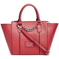 New Guess G Logo Purse Satchel Hand Bag & Checkbook Wallet Matching Set Brown Teal