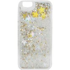 Skinnydip London Phone Case with Screen Guard & Cleaning Cloth (Samsung S7 – Floating Gold/Silver Stars)