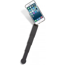 SNAPSTYK Selfie Stick Case – iPhone – Built in Retractable Selfie Stick – Bluetooth Technology for Taking Pictures (Black) (iPhone 6/6s)