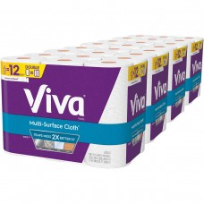 Viva Multi-Surface Cloth Paper Towels, 2-Ply, 110 Sheets, 24-count